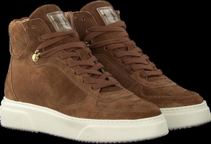 Bruine VIA VAI Hoge sneaker JUNO LEE  - larger