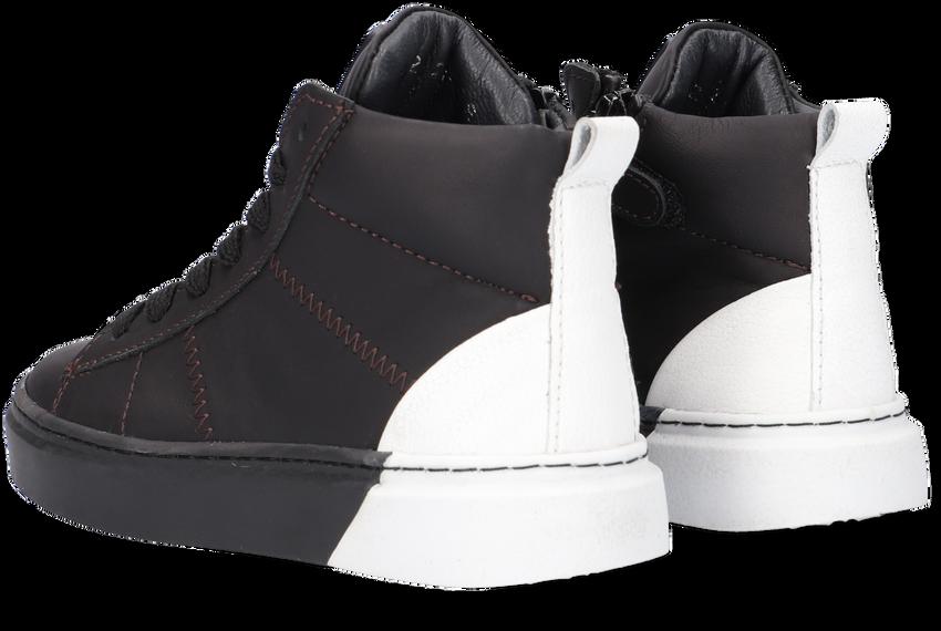 Zwarte JOCHIE & FREAKS Hoge sneaker JF-21682  - larger