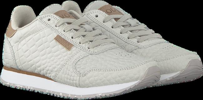Grijze WODEN Lage sneakers YDUN CROCO  - large