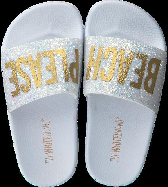 Witte THE WHITE BRAND Slippers GLITTER BEACH KIDS - large