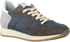 Grijze PHILIPPE MODEL Sneakers MONACO VINTAGE  - small