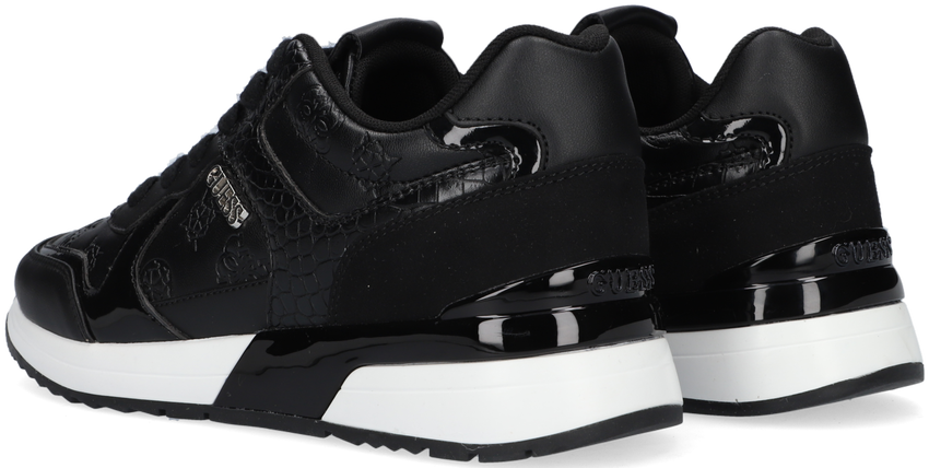Zwarte GUESS Lage sneakers MAYBEL  - larger