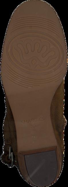 Bruine SHABBIES Enkellaarsjes 183020143  - large