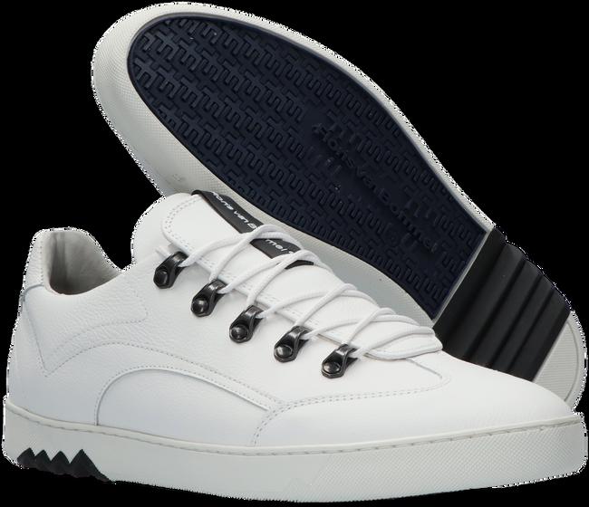 Witte FLORIS VAN BOMMEL Lage sneakers 16464  - large