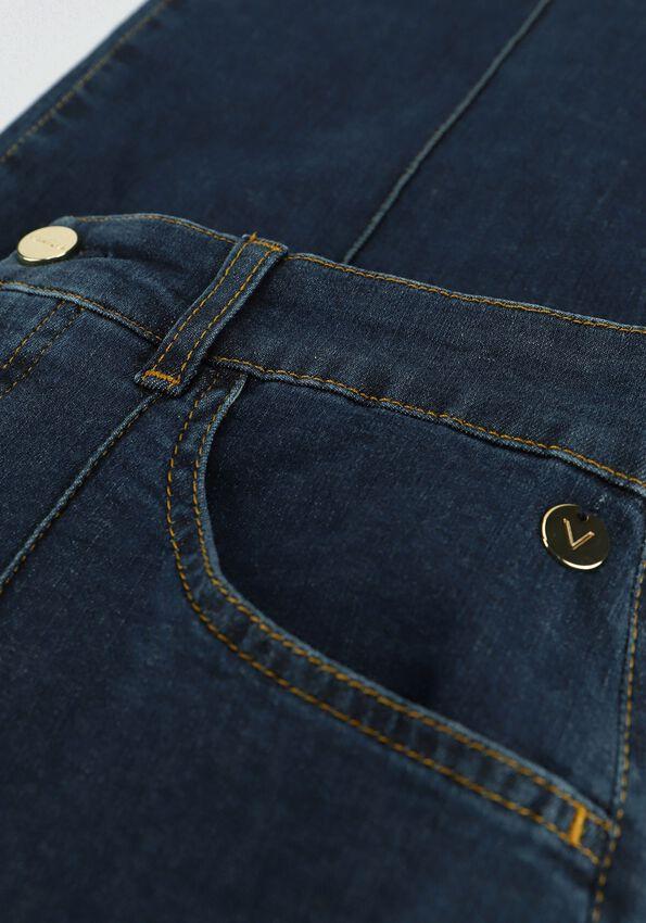 Blauwe VANILIA Flared jeans DENIM BEAU - larger