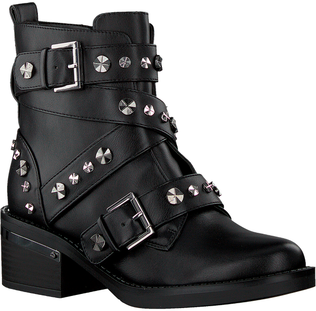 Zwarte GUESS Veterboots FANCEY  - large