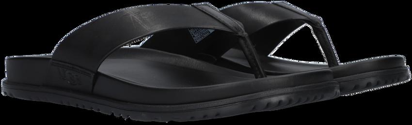 Zwarte UGG Slippers WAINSCOTT FLIP  - larger