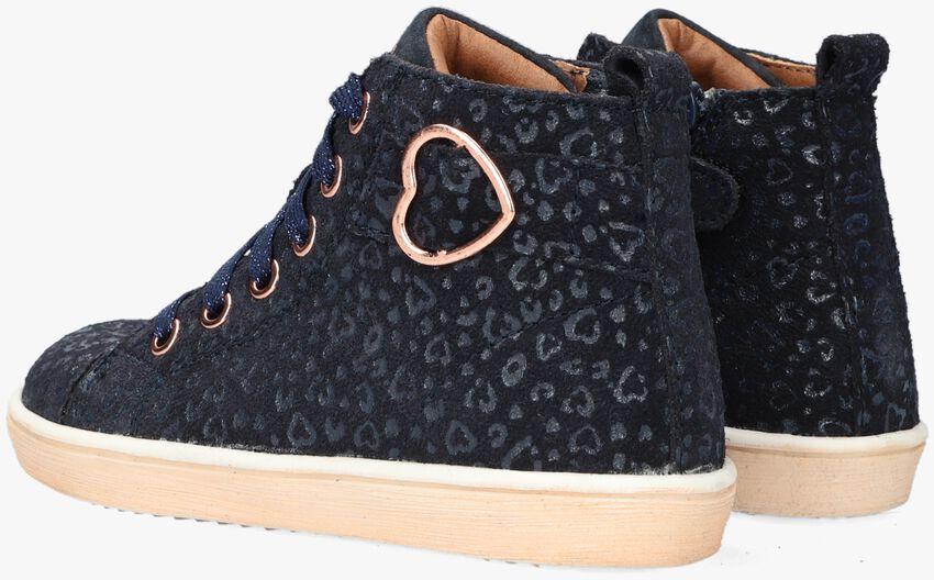 Blauwe TON & TON Hoge sneaker HANZEL  - larger