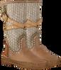 Bruine KARMA OF CHARME Lange laarzen TRICOT 2  - small