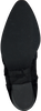 Zwarte NUBIKK Enkellaarsjes FREDDY FRINGE  - small
