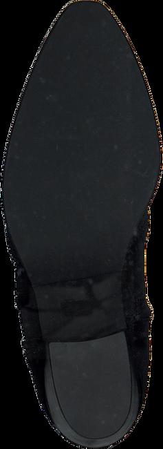 Zwarte NUBIKK Enkellaarsjes FREDDY FRINGE  - large