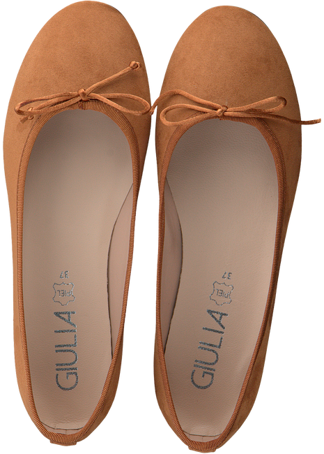 Cognac GIULIA Ballerina's G.12.BALLERINA  - large