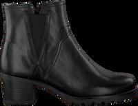 Zwarte GABOR Enkellaarsjes 92.804  - medium