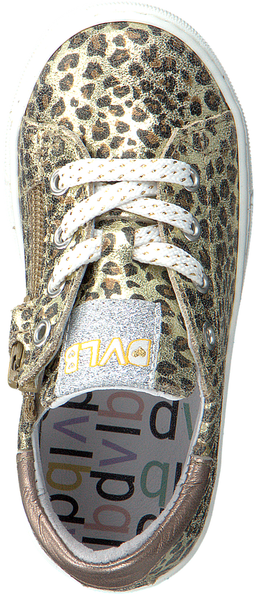 Gouden DEVELAB Lage sneakers 42550  - larger