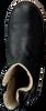 Zwarte OMODA Vachtlaarzen 8064T02A  - small