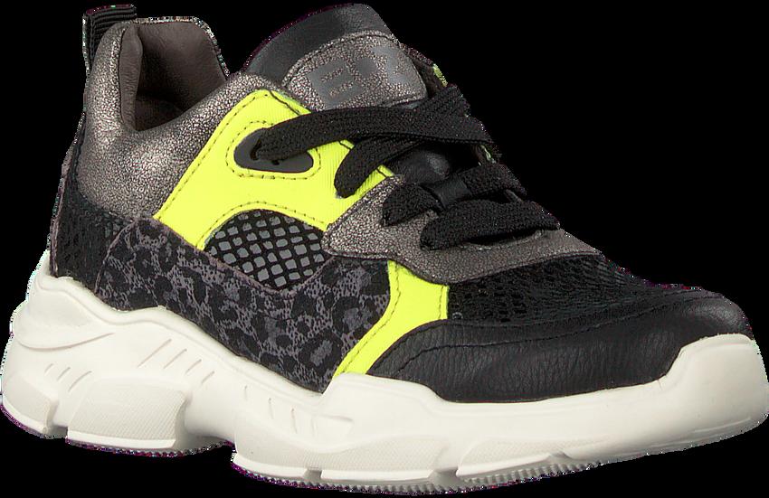 Zwarte BRAQEEZ Lage sneakers RENEE RUN  - larger