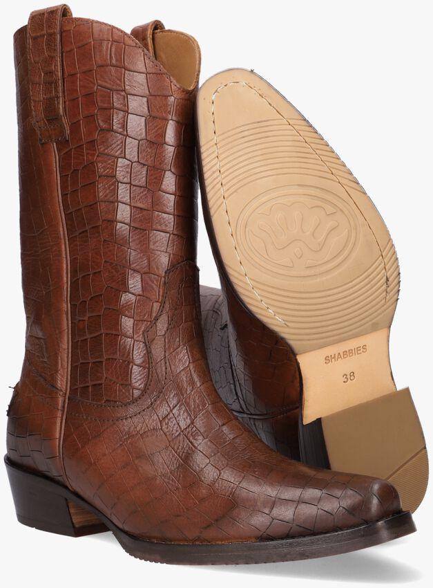 Cognac SHABBIES Hoge laarzen 192020110  - larger