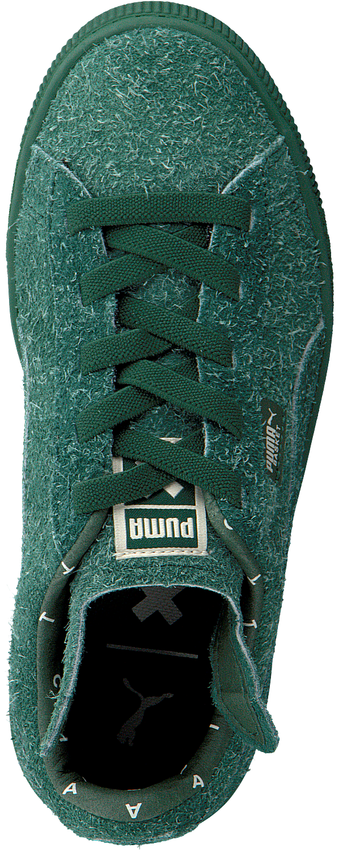 Green PUMA Sneakers PUMA X TC BASKET FURRY Omoda