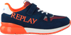 Blauwe REPLAY Lage sneakers CARDIFF JR  - small