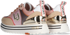 Roze LIU JO Lage sneakers LIUJO MAXI WONDER 20  - small