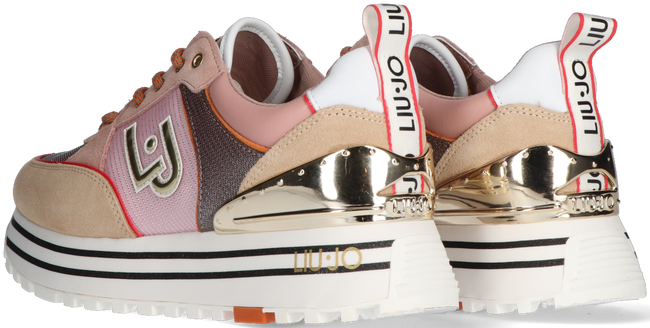 Roze LIU JO Lage sneakers LIUJO MAXI WONDER 20  - large