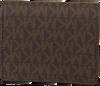 Bruine MICHAEL KORS Portemonnee FLAP CARD HOLDER - small