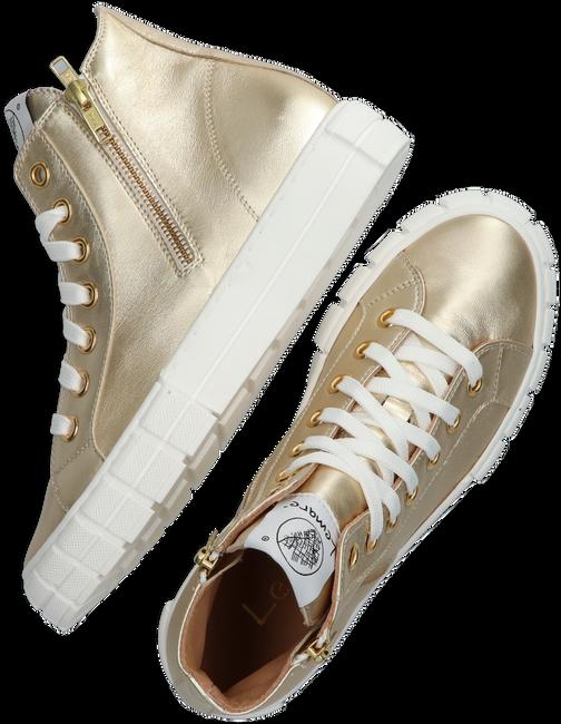 Gouden LEMARÉ Hoge sneaker 2546  - large