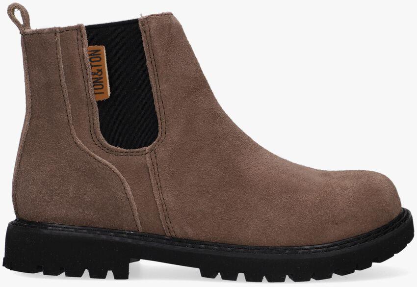 Bruine TON & TON Chelsea boots SIGURD  - larger