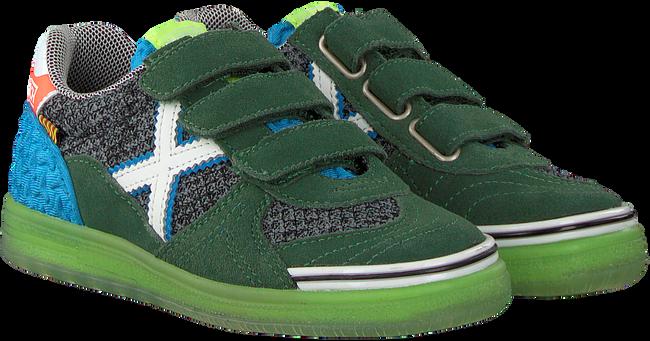 Groene MUNICH Sneakers G-3 VELCRO - large