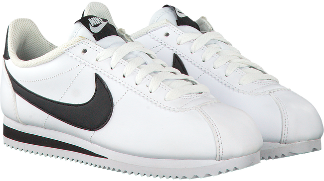 Witte NIKE Sneakers CLASSIC CORTEZ LEATHER WMNS  - large