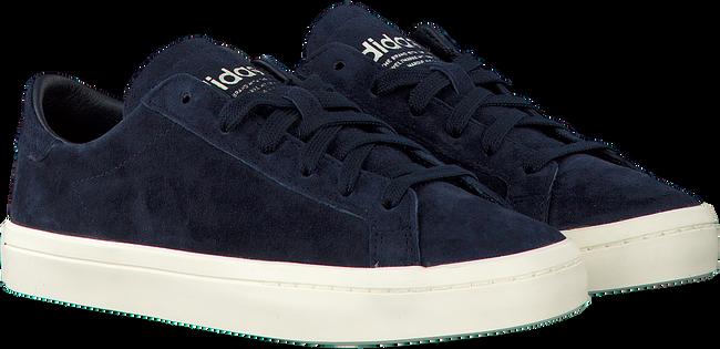 Blauwe ADIDAS Sneakers COURT VANTAGE DAMES  - large