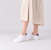 Witte FRED DE LA BRETONIERE Lage sneakers 101010188  - small