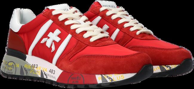 Rode PREMIATA Lage sneakers LANDER  - large