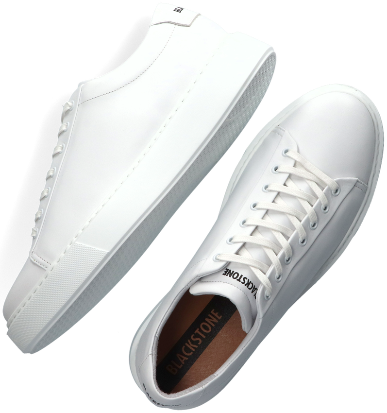 Witte BLACKSTONE Lage sneakers VG45  - larger