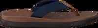 Blauwe TOMS Slippers TRAVAL LITE  - medium