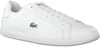 Witte LACOSTE Sneakers GRADUATE  - small