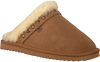 Cognac WARMBAT Pantoffels FLURRY WOMEN STUDS - small