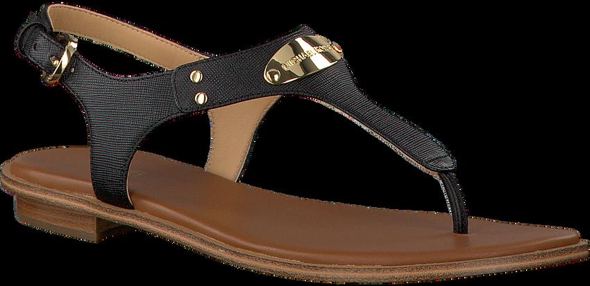 Zwarte MICHAEL KORS Sandalen MK PLATE THONG - larger