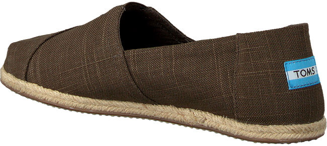 Groene TOMS Espadrilles CLASSIC ROPE SOLE - large