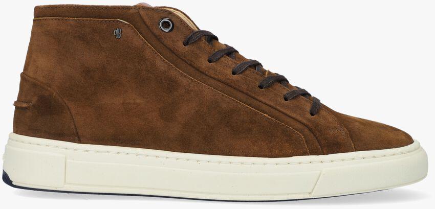 Cognac VAN BOMMEL Hoge sneaker 20380  - larger