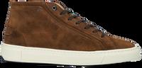 Cognac VAN BOMMEL Hoge sneaker 20380  - medium