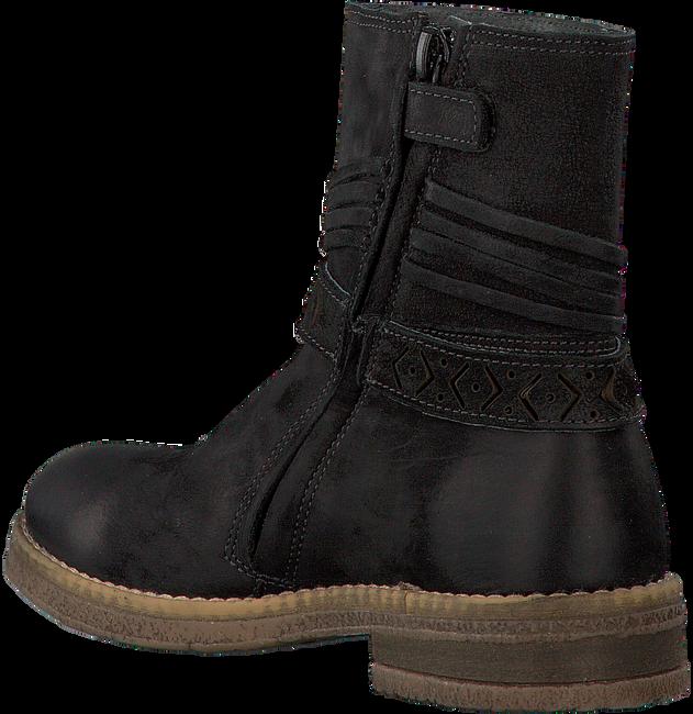 Zwarte GIGA Lange laarzen 8694  - large