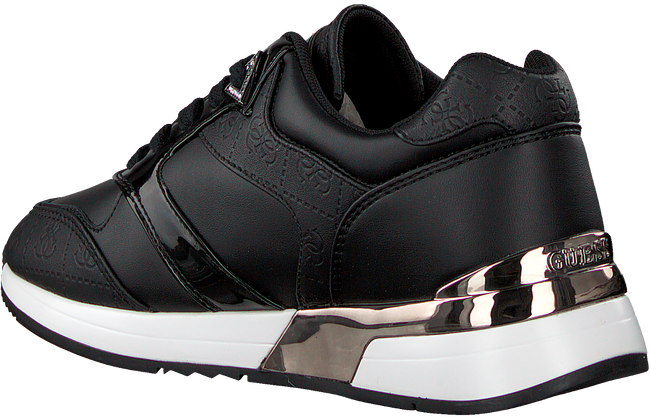Zwarte GUESS Lage sneakers MOTIV  - large