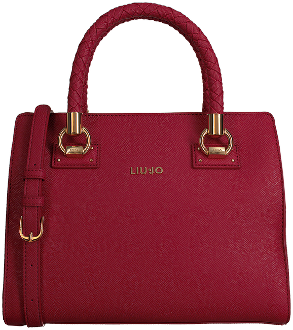 Rode LIU JO Handtas M SATCHEL MANHATTAN - large
