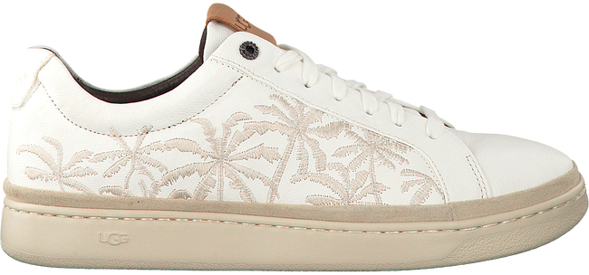 Witte UGG Sneakers CALI SNEAKER LOW PALMS  - large