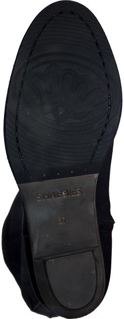 Zwarte SHABBIES Lange laarzen 250193  - large