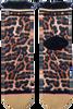 Bruine XPOOOS Sokken LUCILLE LEOPARD  - small