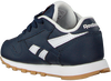 Blauwe REEBOK Sneakers CLASSIC LEATHER KIDS  - small