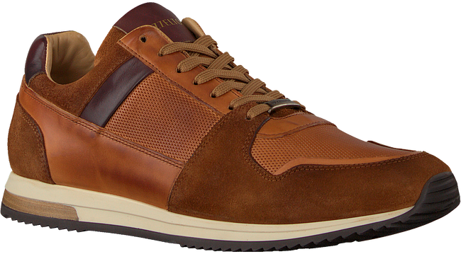 Cognac MAZZELTOV Lage sneakers 20-9423E  - large