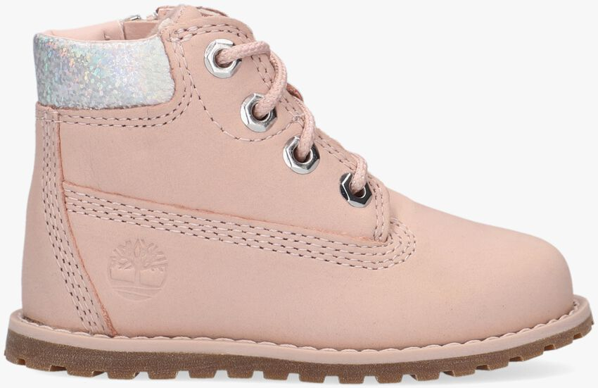 Roze TIMBERLAND Veterboots POCKEY PINE 6IN BOOT WITH SIDE  - larger
